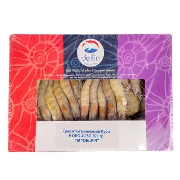 Delfin HOSO Vannamei Cuba Shrimps 40/50 700g - buy, prices for Novus - photo 1