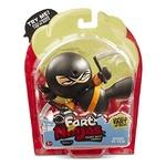 Funrise Kung Pi Yew Ninja Black Kimono Orange Belt Toy