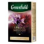 Чай Гринфилд Спринг мелоди травяной с душистыми травами и фруктовым ароматом 100г