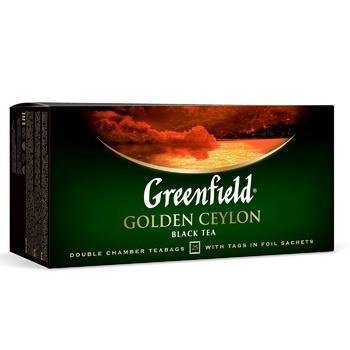 Чай Гринфилд Голден Цейлон черный 2г х 25шт