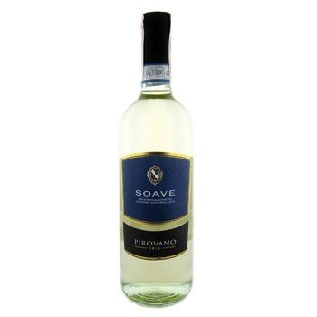 Вино Pirovano Soave DOC белое сухое 11,5% 0,75л
