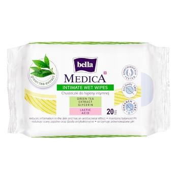 Салфетки для интимной гигиены Bella Hydro Natural влажные 20шт