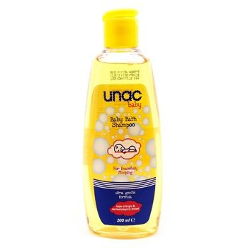 Шампунь дитячий Unac 200мл - купити, ціни на Novus - фото 1