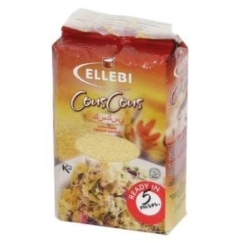 Кус-Кус Ellebi із твердих сортів пшениці 900г - купити, ціни на МегаМаркет - фото 1