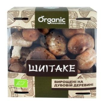 Грибы Шиитаке Organic Innovations 230г - купить, цены на Ашан - фото 1