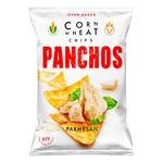 Чіпси Panchos пшенично-кукурудзяні зі смаком сиру Пармезан 82г