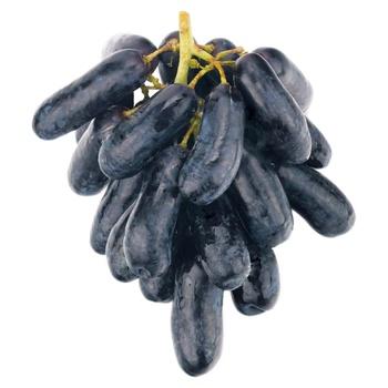 Виноград Дамский пальчик черный