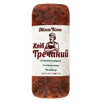 Millwill Buckwheat Bread 350g - buy, prices for Auchan - photo 1