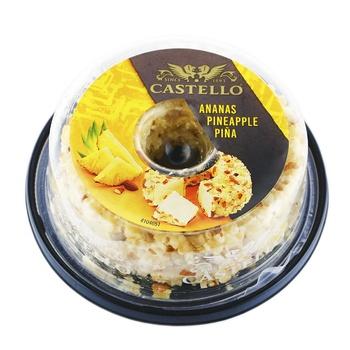 Castello pineapple cream-cheese 125g - buy, prices for CityMarket - photo 1