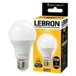Лампа Lebron LED Е27 3000K 1350Лм 15Вт