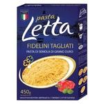Макарони Pasta Letta вермішель 450г