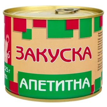 Pyatachok canned pork meat 525g - buy, prices for Novus - image 1