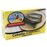 Mariscadora In Oil Mackrel Can 125ml