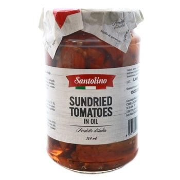 Santolino In Sunflower Oil Sun Dried Tomatoes 314ml - buy, prices for Novus - image 1