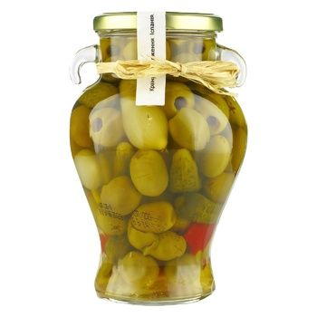 Don Gastronom Spicy Olive Cocktail 580g - buy, prices for Novus - image 1
