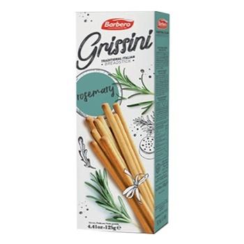 Хлібні палички З РОЗМАРИНОМ BARBERO 125г