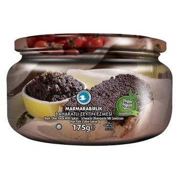 Паштет оливковий Marmarabirlik зі спеціями 175г - купити, ціни на Ашан - фото 1