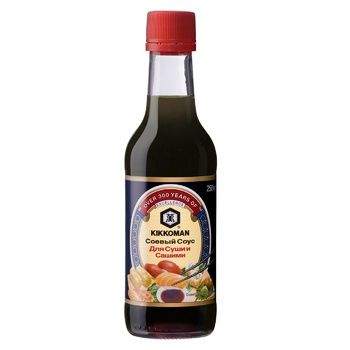 Sauce Kikkoman soya for sushi 250ml - buy, prices for MegaMarket - image 1