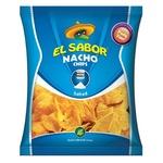 Чипсы El Sabor Nacho с солью 225г