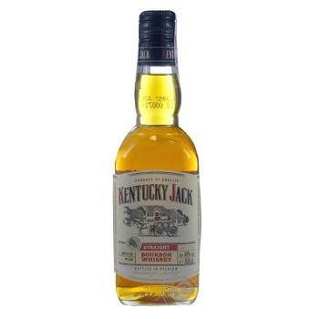Виски бурбон Kentucky Jack 40% 0,5л