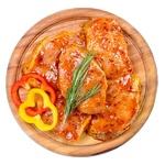 Стейк свиной из корейки без кости в маринаде
