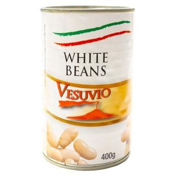 Фасоль Vesuvio Канеллини белая 400г