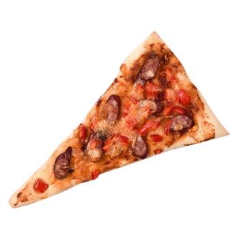 Міні-піцца з мисливськими ковбасками 130г