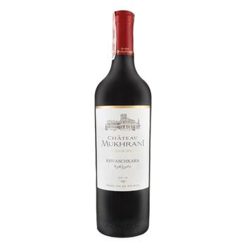 Вино Chateau Mukhrani Khvanchkara красное полусладкое 11.5% 0,75л - купить, цены на Фуршет - фото 2