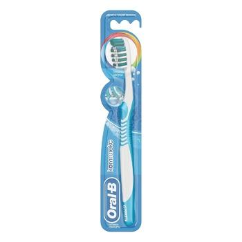 Зубна щітка Oral-B Комплекс Глибоке Чищення середня 2шт - купити, ціни на Ашан - фото 1