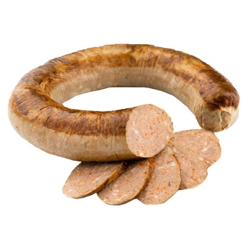 Колбаса жаренная с печенью в/с