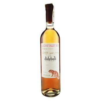 Вино Didebuli Алазанська Долина рожеве напівсолодке 11.5% 0.75л