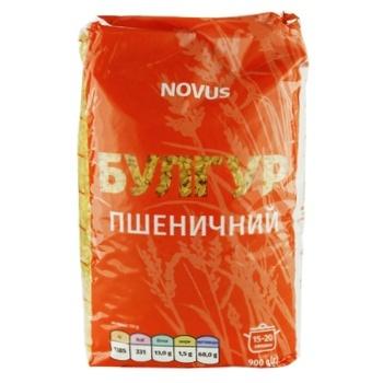 Novus Wheat Bulhur 900g - buy, prices for Novus - photo 1