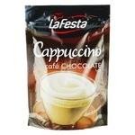 Напиток Ла Феста Капучино Шоколадный растворимый 100г