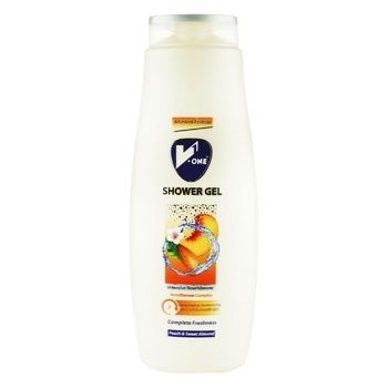 Sionse Aqua Chrome Shower Gel With Peach And Sweet Almond Aroma 0,7l