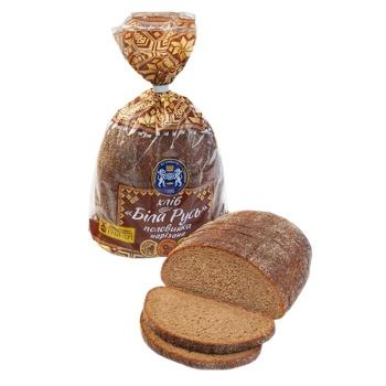 Хліб Кулиничі Біла Русь нарізаний половинка 350г - купити, ціни на Фуршет - фото 1