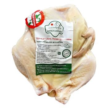 Тушка цыпленка Фермерский двор домашняя потрошеная охлажденная от 700 до 900г
