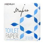 Бумага туалетная Марго Premium белая трехслойная 4шт