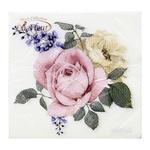 Серветки La Fleur Квіткове тріо двошарові 33x33см 15шт
