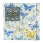 Салфетки Novus Бабочки бумажные с рисунком 3-слойные 33x33см 20шт