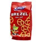 Брецелі Croco солоні 80г