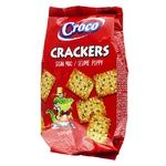Croco With Sesame And Poppy Cracker 100g
