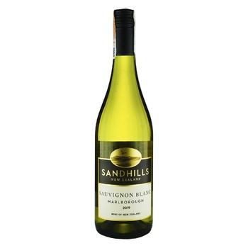 Вино Sand Hills Sauvignon Blanc Marlborough белое сухое 12,5% 0,75л