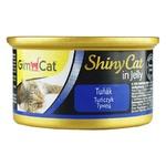 Корм GimCat Shiny Cat для котов всех пород с тунцом 70г