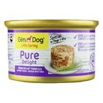 Влажный корм для собак GimDog LD Pure Delight курица и тунец 85г
