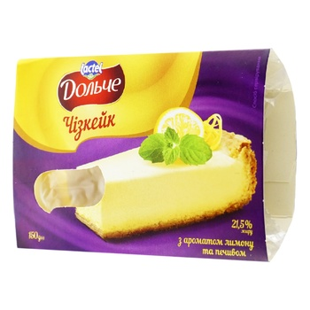 Dolce with cookies and lemon cheesecake 21.5% 150g - buy, prices for CityMarket - photo 1