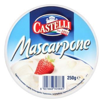 Castelli Mascarpone cheese 80% 250g - buy, prices for CityMarket - photo 2