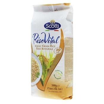 Riso Scotti brown long grain rice 500g - buy, prices for CityMarket - photo 2