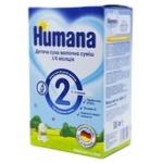 Суміш молочна Хумана 2 суха дитяча з 6 до 12 місяців 600г Німеччина