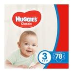 Подгузники Хаггис Классик 3 (4-9кг) 74шт