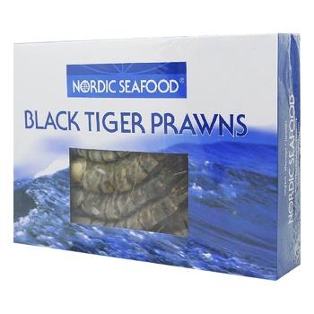Nordic Whole With Head Black Tiger Shrimps 16/20 1kg